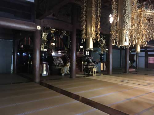 永平寺の仏殿(吹田市紅葉山会館の葬儀の豆知識)
