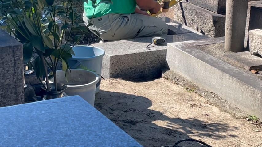 吹田市内本町のお墓リフォーム(紅葉山会館1)