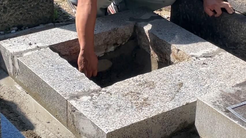 吹田市内本町のお墓リフォーム(紅葉山会館4)