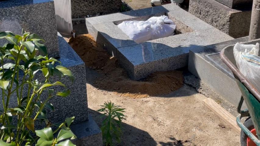 吹田市内本町のお墓リフォーム(紅葉山会館5)