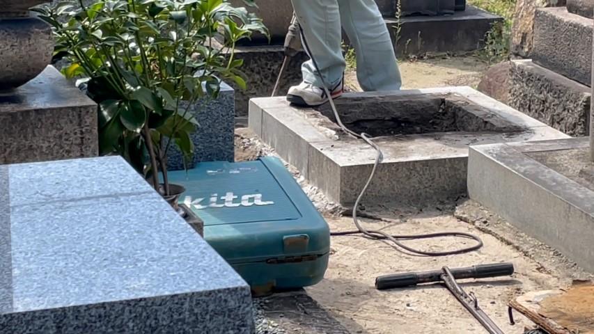 吹田市内本町のお墓リフォーム(紅葉山会館24)