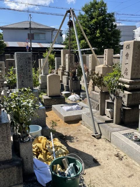 吹田市内本町のお墓リフォーム(紅葉山会館10)