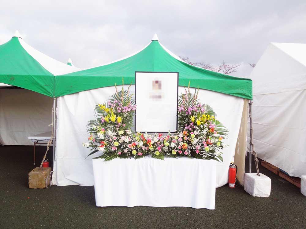 万博記念公園(吹田市紅葉山会館の生花部活動6)